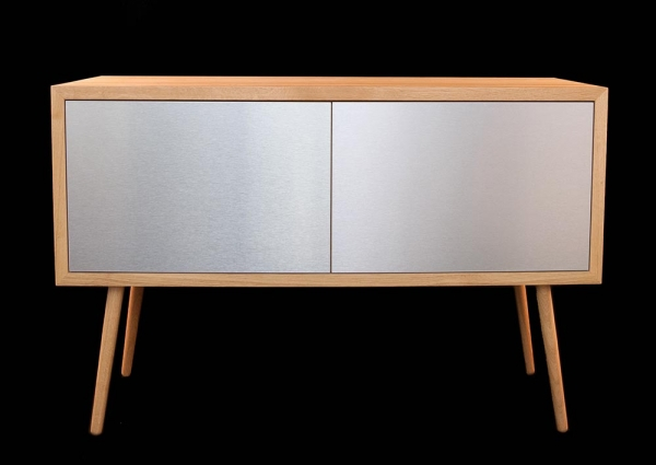 Massivholz Highboard